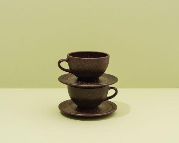 Kaffeeform Latte Cups mit Untertassen im 2er Set