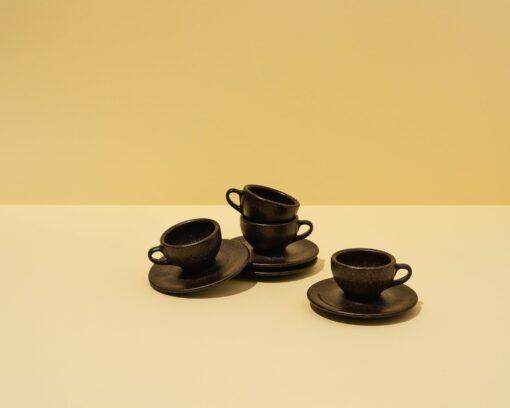 Kaffeeform Espresso Cups aus Kaffeesatz im 4er Pack