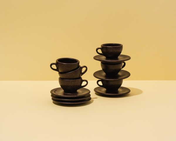 Kaffeeform Espresso Cups aus Kaffeesatz im 6er Pack