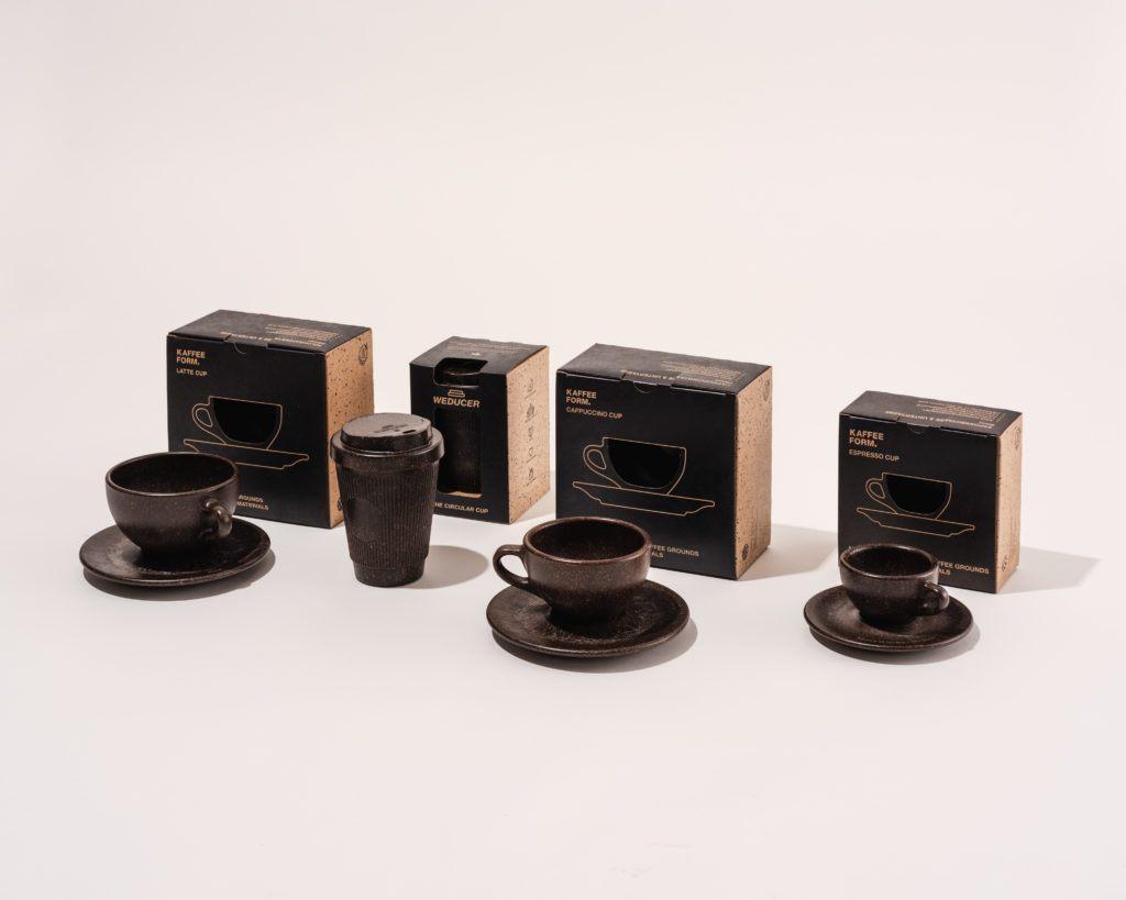 Kaffeeform Cups mit Verpackung