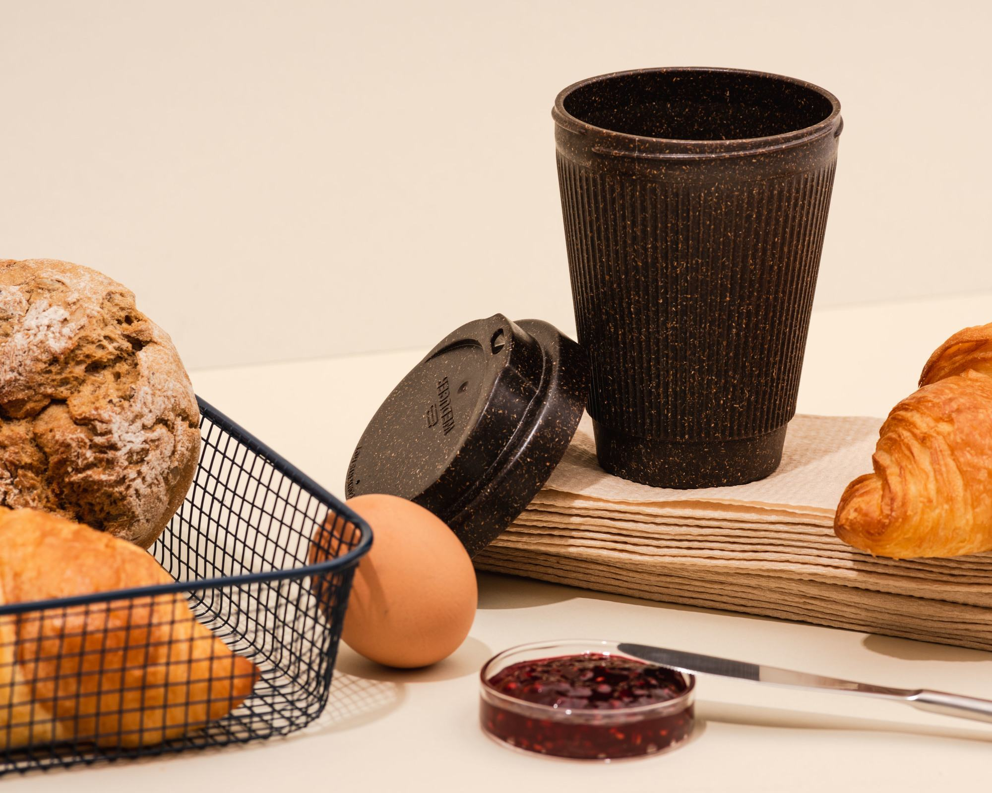 Kaffeeform Weducer cup aus Kaffeesatz