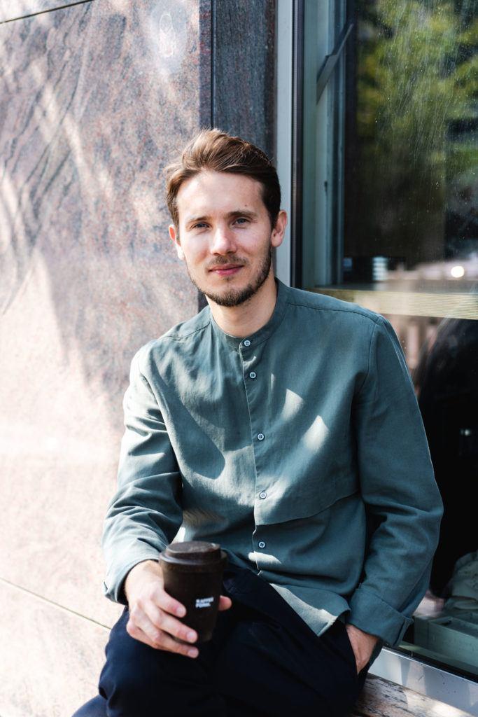 Kaffeeform Gründer Julian Lechner