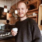 Sven Morris von der Oslo Kaffeebar