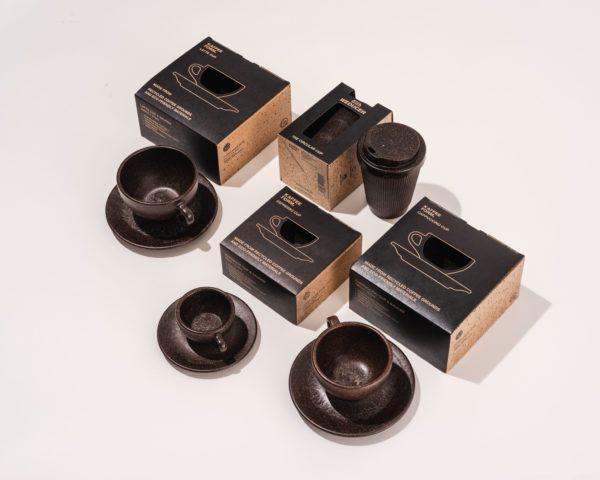 Kaffeeform Weducer, Espresso, Cappuccino und Latte Cups mit Verpackung