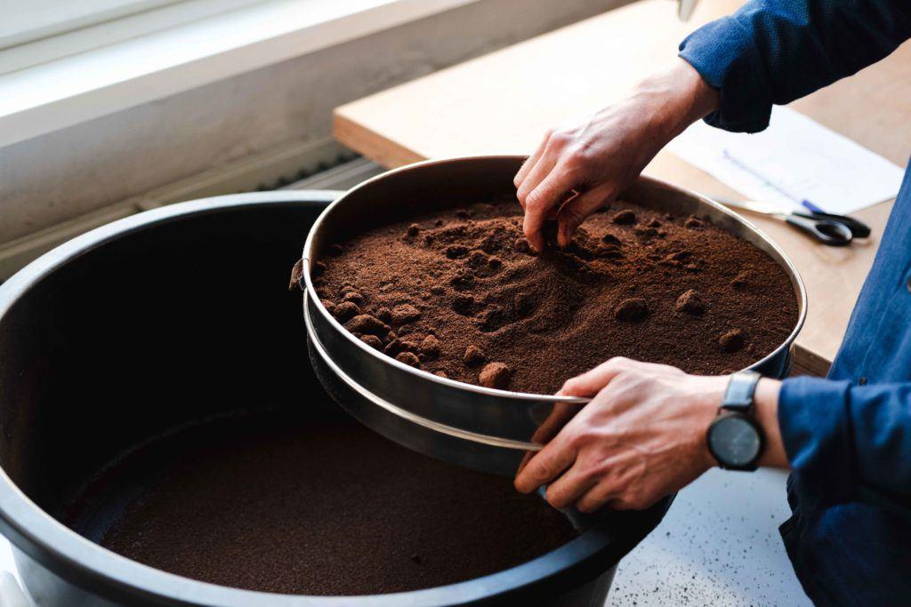 Kaffeeform Produktion Kaffeesatz