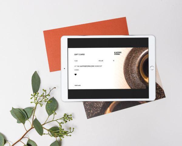 Digital Kaffeeform gift card