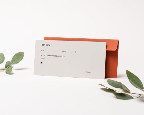 Kaffeeform gift card