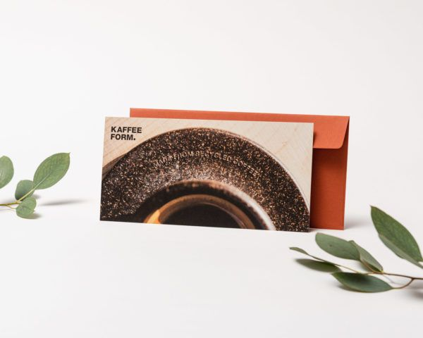 Kaffeeform Geschenkgutschein