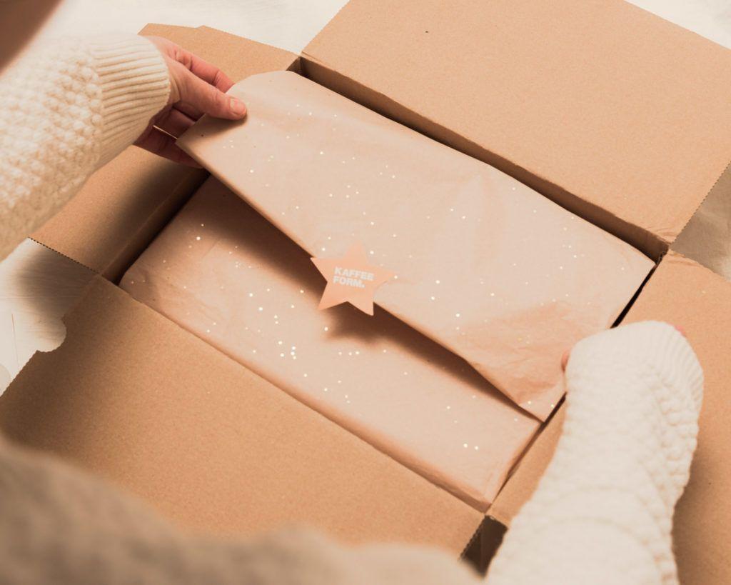 Kaffeeform Geschenkservice mit Geschenkpapier